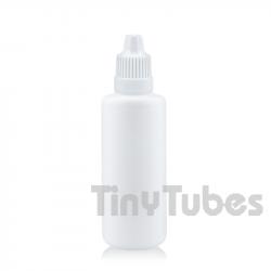 White 60ml dropper bottle